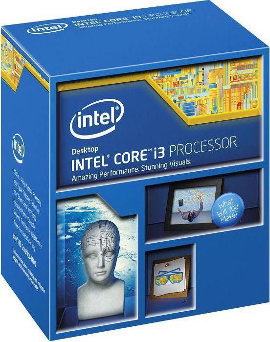 Процессор Intel Core i3 4160